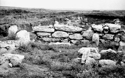 остатки Панского городища в Крыму