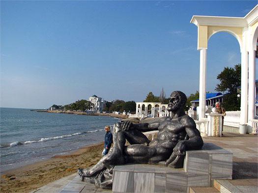 Нептун в Евпатории