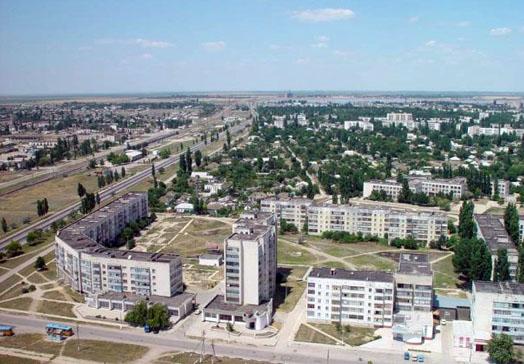 фотография плана города Красноперекопск