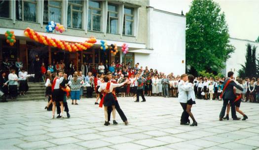 23-ая школа Севастополя, прощальный бал