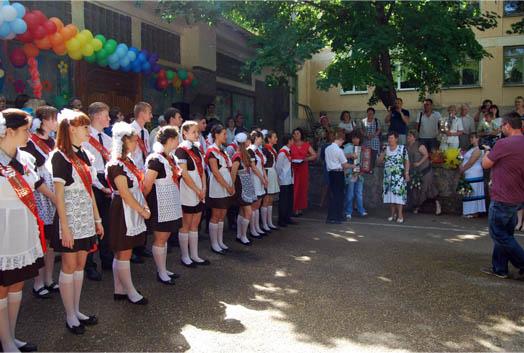 выпускной в 25-ой школе Севастополя