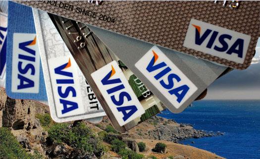 карты visa в Крыму