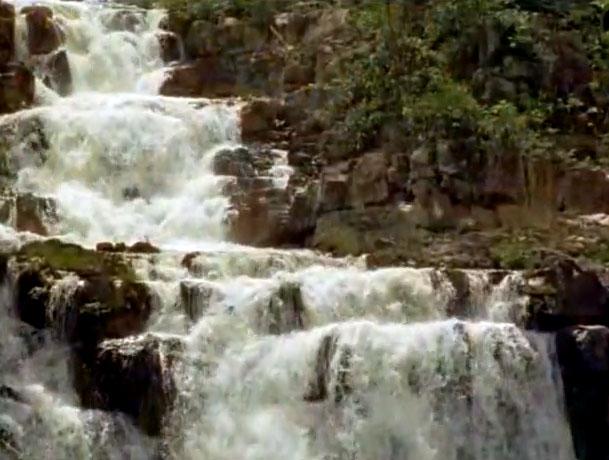 вода с гор