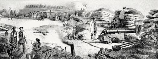 Малахов Курган в боевых действиях