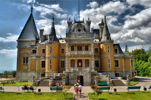 Массандровский дворец - фото