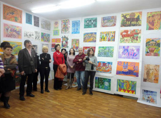 выставка детской художественной школы