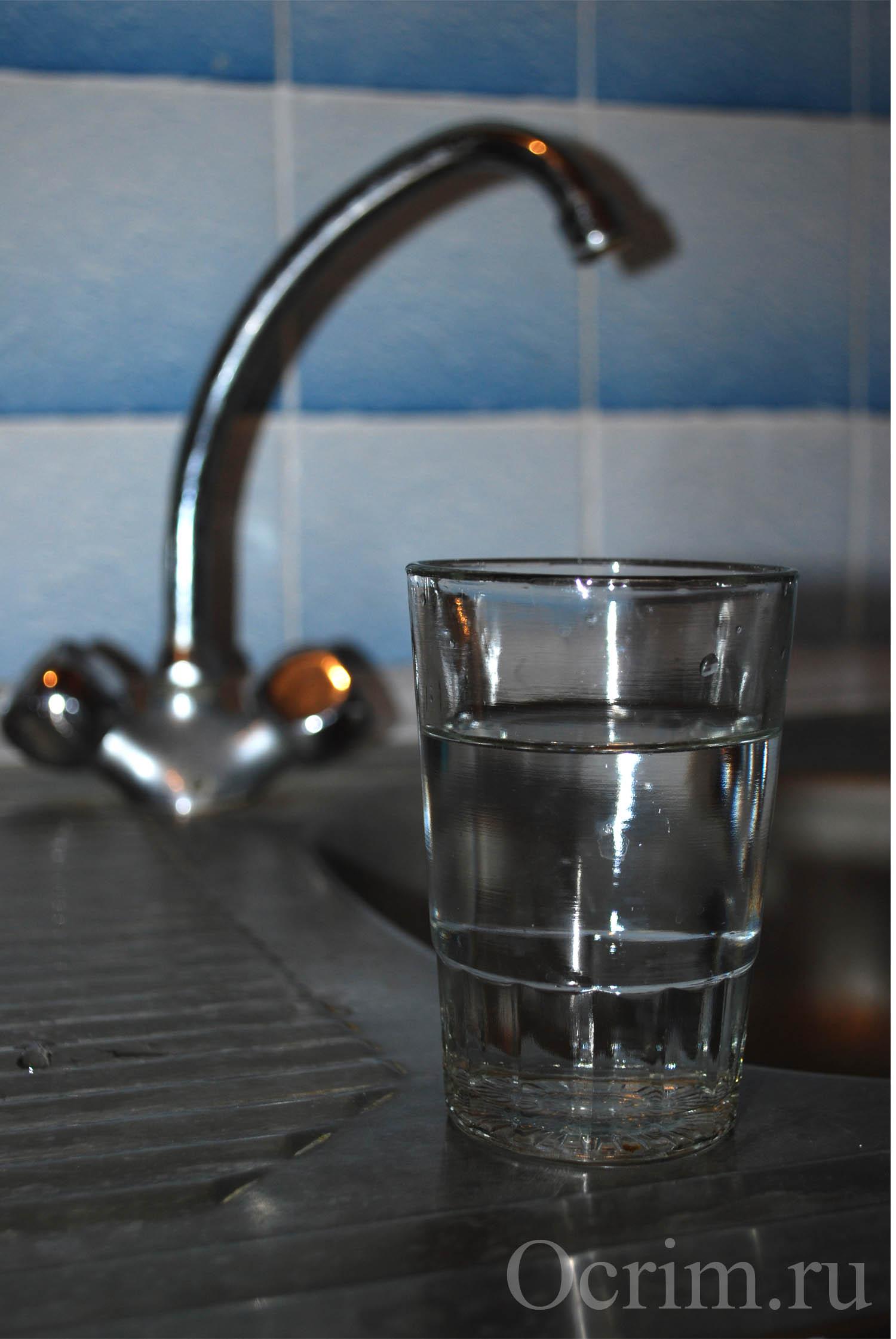 вода из водоканала Судака