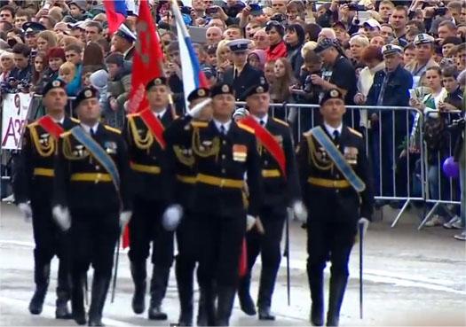 9 мая в Севастополе пеший парад 2014