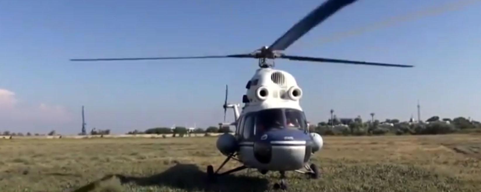 Ми-2 готов лететь в Крым