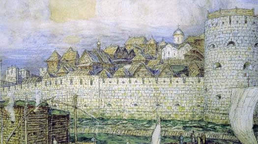 первый облик крепости кремля
