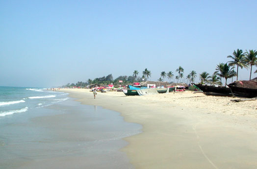 район пляжа Кандолим