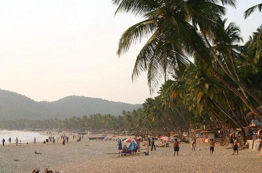 описание пляжа Гоа Паполем по фото