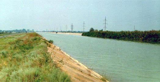 Северо Крымский канал не предназначен для купания