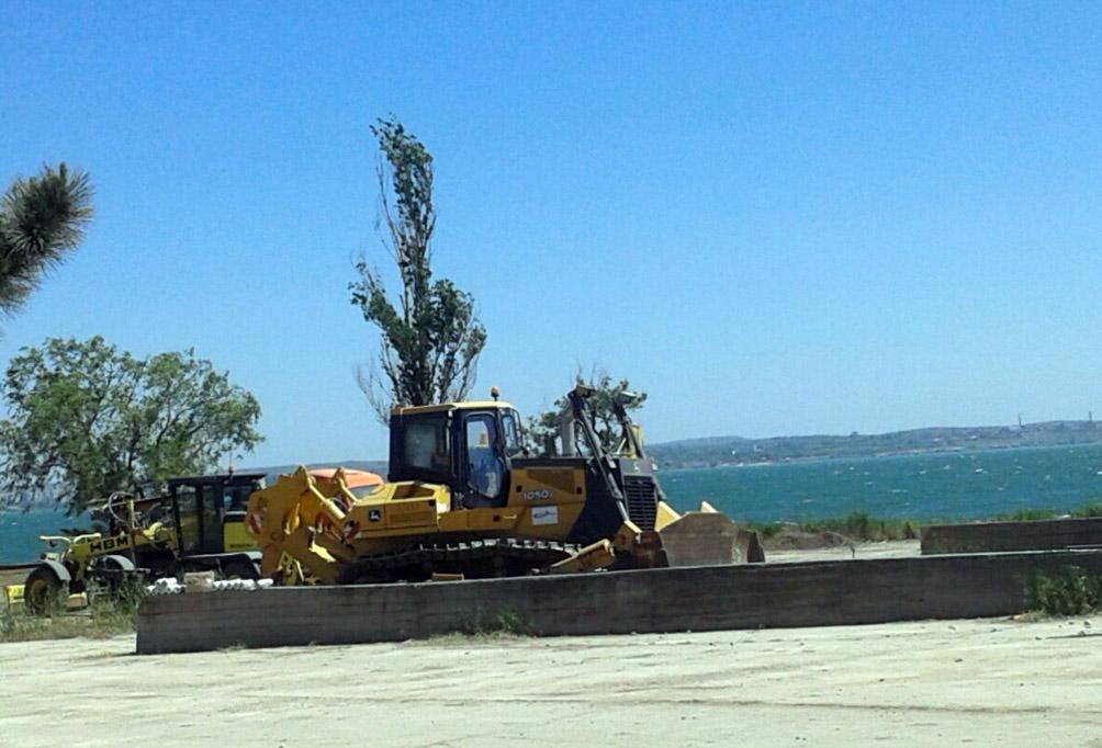 Работа на строительстве Керченского моста