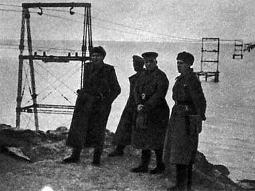 Строительство моста через керченский