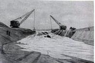 копания канала в Крыму